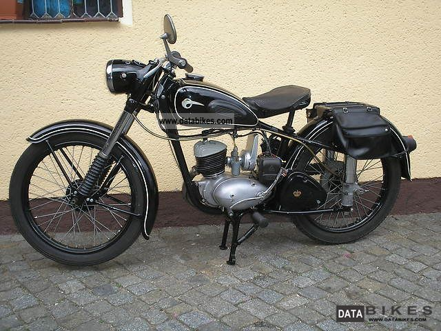 Mz  RT 125-2 1954 Vintage, Classic and Old Bikes photo