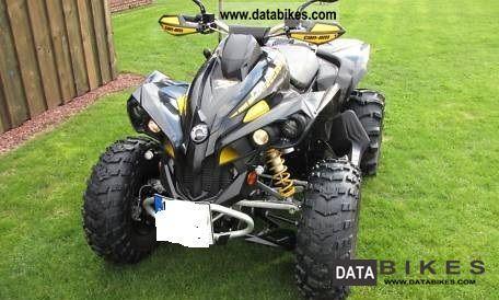 2008 Can Am  800 X Bombardier Kardan/800 cm3/TUV super Zustan Motorcycle Quad photo