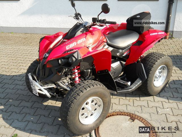 2009 Can Am  800 Renegade, KM little, well maintained Motorcycle Quad photo