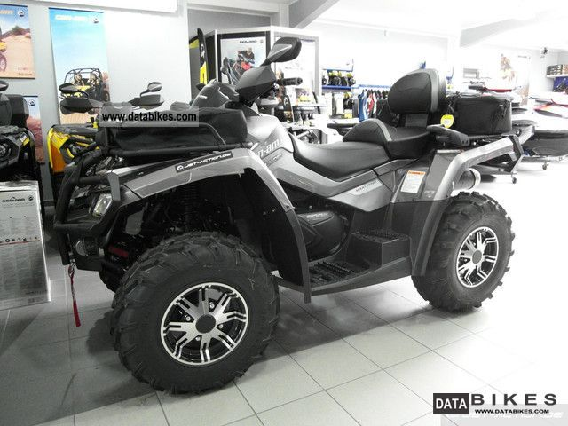 2012 Can Am  Bombardier BRP Outlander Max 800R Limited LTD Motorcycle Quad photo