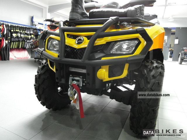 Can Am  BRP Bombardier Outlander MAX 800R XT incl LOF 2012 Quad photo