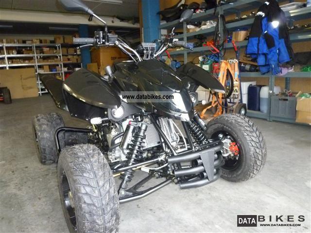 2012 Triton  450 SM Black Lizard Demonstration Motorcycle Quad photo