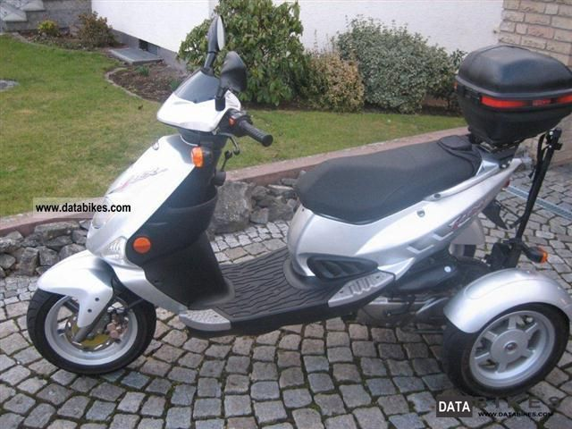 PGO  TR 3 2010 Scooter photo