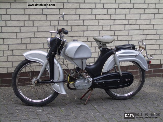 Sachs  Göricke Moped Type 324 1958 Vintage, Classic and Old Bikes photo