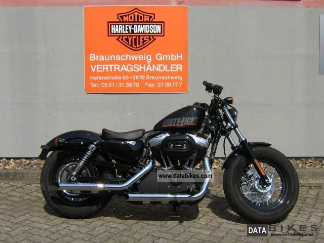 2012 Harley Davidson  XL1200X Sportster Forty Eight 48 Motorcycle Chopper/Cruiser photo
