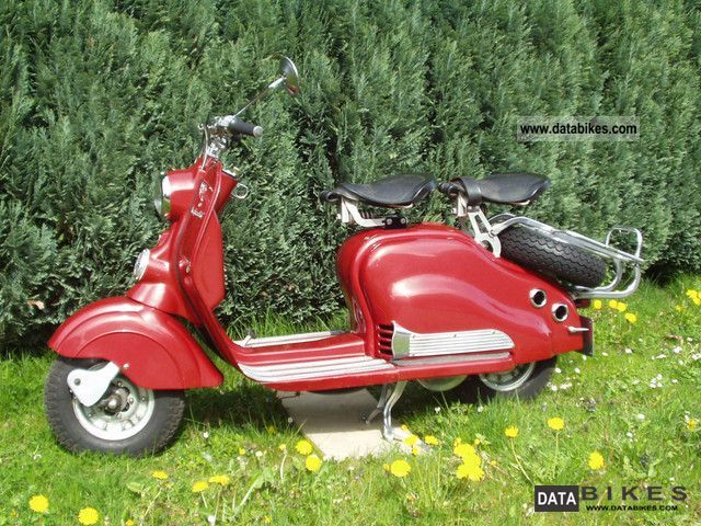 NSU  Lambretta 150 1953 Vintage, Classic and Old Bikes photo