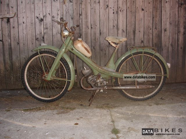 1955 NSU  Quickly Motorcycle Motor-assisted Bicycle/Small Moped photo