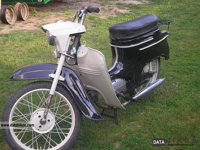 1963 Jawa  ideal Motorcycle Motor-assisted Bicycle/Small Moped photo