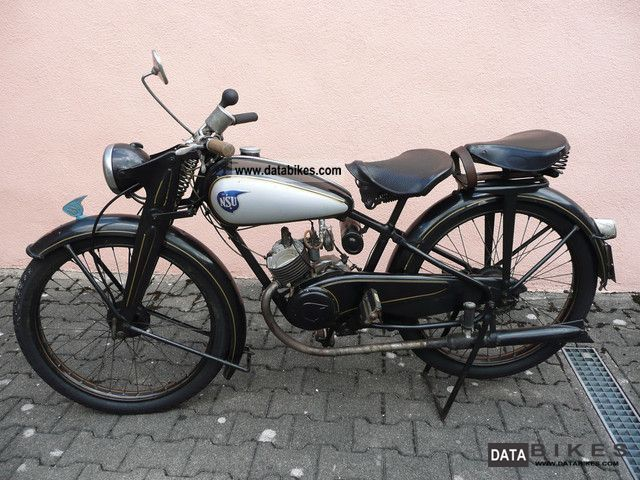 NSU  Quick 1952 Vintage, Classic and Old Bikes photo