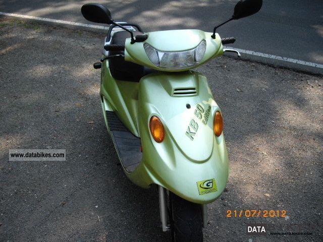 2004 kymco kb50 zx5o
