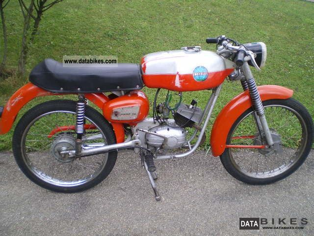 Benelli  Sprint 3 V 50 cc racing machine \ 1969 Vintage, Classic and Old Bikes photo
