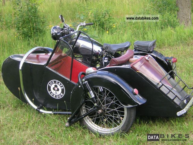 1950 BSA  A10 650 carriage sidecar Motorcycle Combination/Sidecar photo