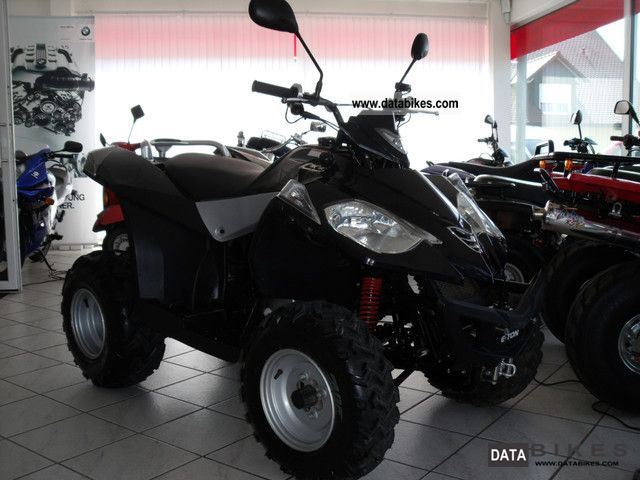 2005 Daelim  E-Ton Vector 250/Automatik with RWG / lots of accessories Motorcycle Quad photo
