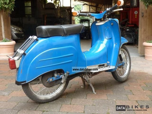 1970 Simson  KR51 / 1 Motorcycle Motor-assisted Bicycle/Small Moped photo