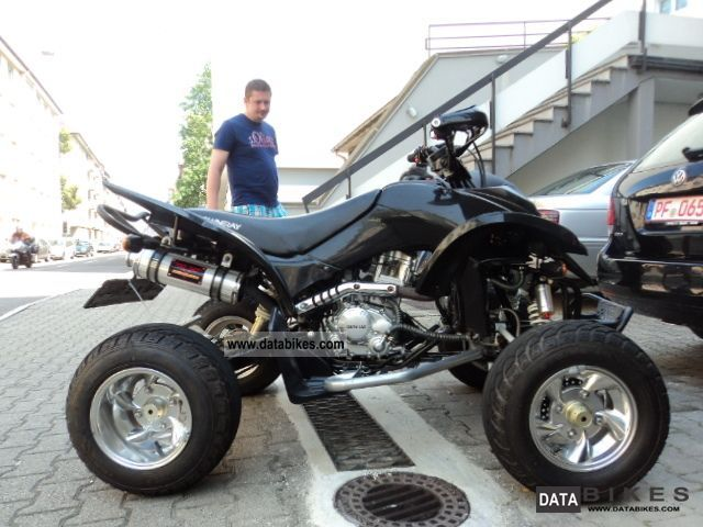 2008 Sherco  SPYDER DUAL 250 Shineray 49kw GERMAN APPROVAL Motorcycle Quad photo