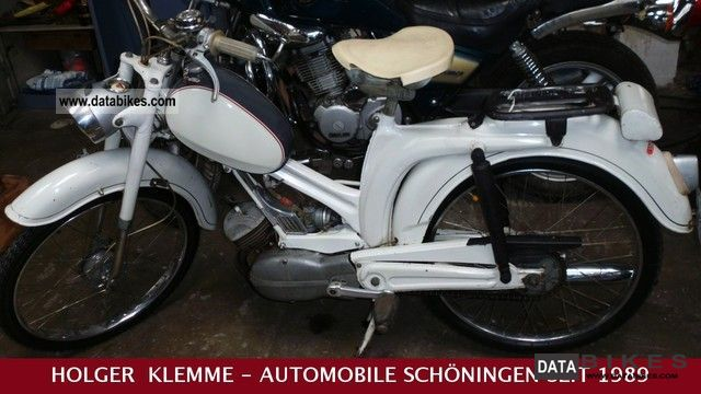 DKW  VICTORIA TYPE 110 / MOFA ORIGINAL WITH PAPERS 1966 Vintage, Classic and Old Bikes photo