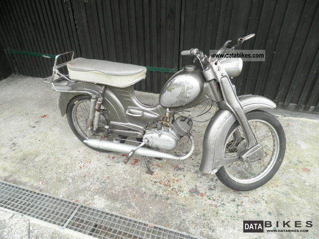 Zundapp  Zundapp Super Combinette 3rd gear 1961 Vintage, Classic and Old Bikes photo