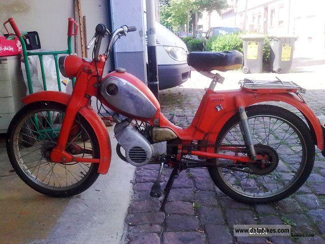 1970 Zundapp  Zündapp climber MF25 Motorcycle Motor-assisted Bicycle/Small Moped photo