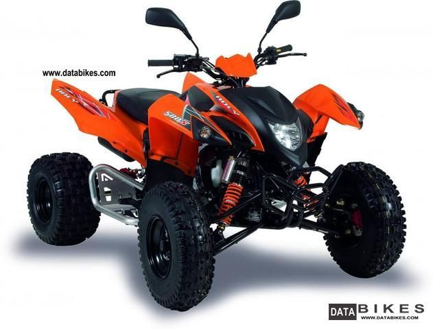 2012 Adly  Hurricabe 500S / LOF version Motorcycle Quad photo