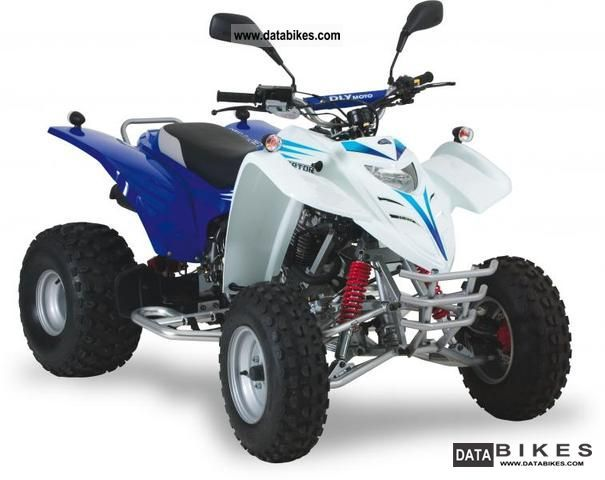 2012 Adly  Interceptor 300 Motorcycle Quad photo