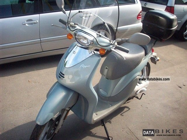 2002 MBK  Flipper Top New tires Battery Motorcycle Scooter photo