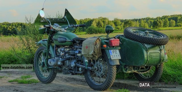 Ural  drive with a team MT16 1967 Vintage, Classic and Old Bikes photo