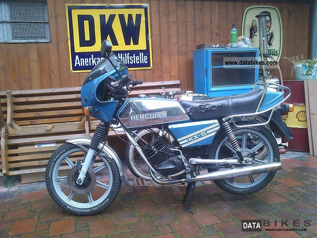 1981 Hercules  kx 5 Motorcycle Motor-assisted Bicycle/Small Moped photo