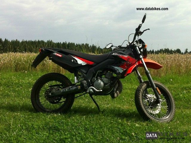 2011 Derbi  x-treme 50SM Motorcycle Motor-assisted Bicycle/Small Moped photo