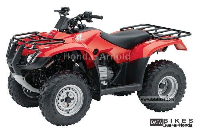 2012 Honda  TRX250TE ** ** with Strassenzulasung Motorcycle Quad photo