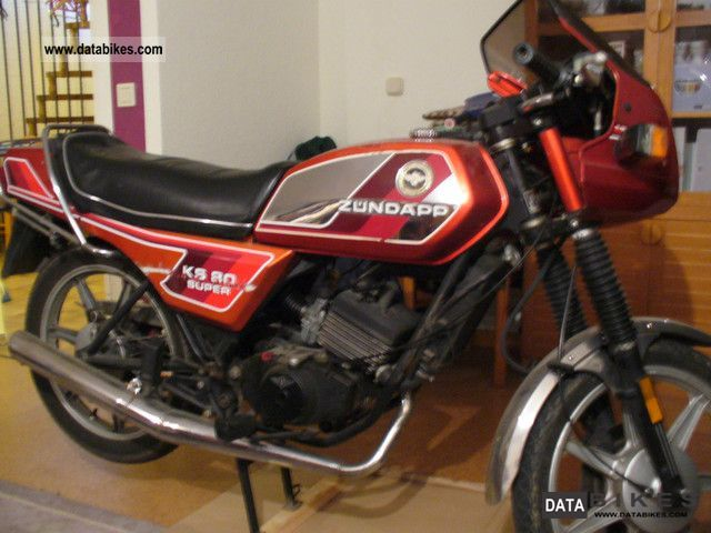 Zundapp  Zundapp KS 80 Super & ZR 20 1978 Vintage, Classic and Old Bikes photo