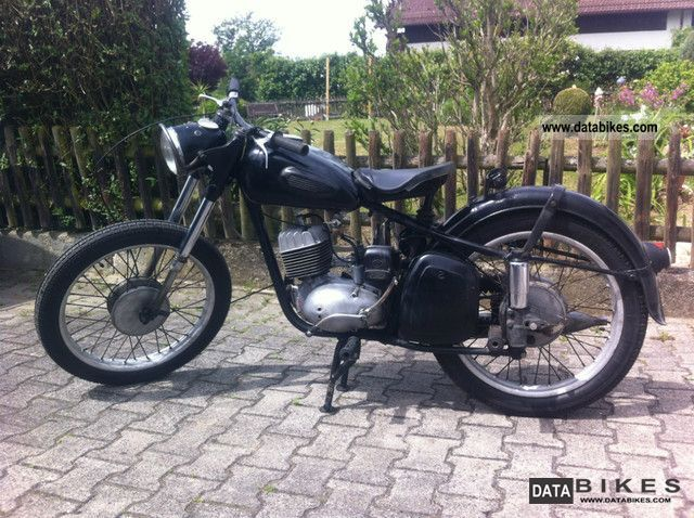 Mz  RT 125, as DKW / IFA 1959 Vintage, Classic and Old Bikes photo