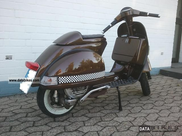 1992 vespa px 139ccm custom transformation