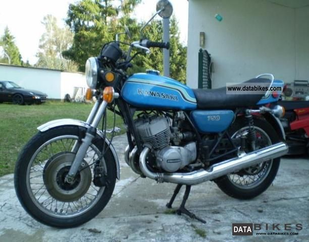 Kawasaki  750 H2 Mach IV, 74 hp, year 72 1972 Naked Bike photo