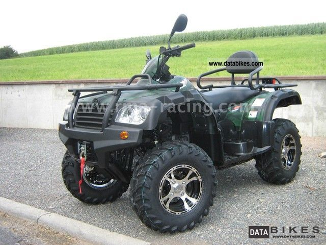 2012 CFMOTO  EVEREST including LOF and 500 snow plow Heizkriffe Motorcycle Quad photo