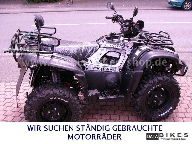2012 TGB  Blade 550 4x4 IRS Special Price LOF Motorcycle Quad photo