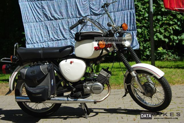 Simson  S50 / S51 hybrid 1978 Vintage, Classic and Old Bikes photo