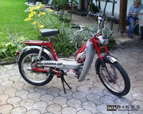 1977 Hercules  MK 4 Motorcycle Motor-assisted Bicycle/Small Moped photo