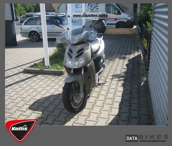 2008 Aprilia  Sport City 300 Motorcycle Scooter photo