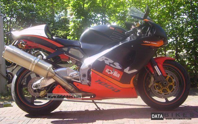 2001 Aprilia  RSV Mile Motorcycle Racing photo
