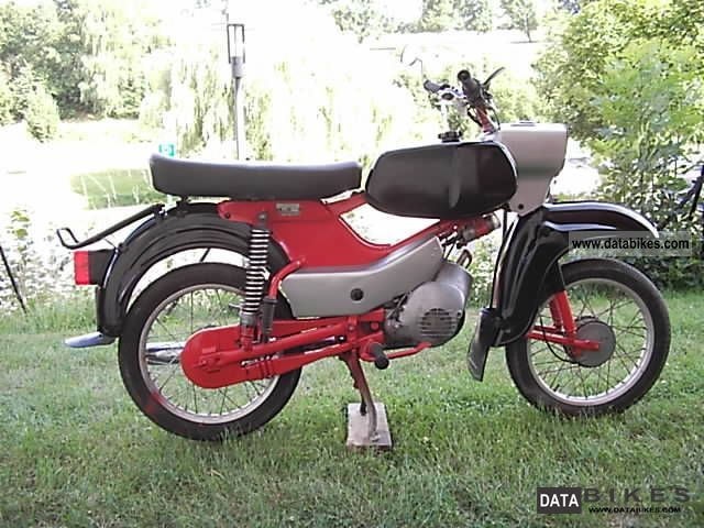 1975 Simson  sr4-4 Sperber Motorcycle Lightweight Motorcycle/Motorbike photo