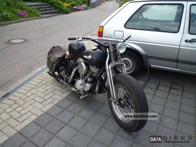 Harley Davidson  Panhead 1948 Vintage, Classic and Old Bikes photo
