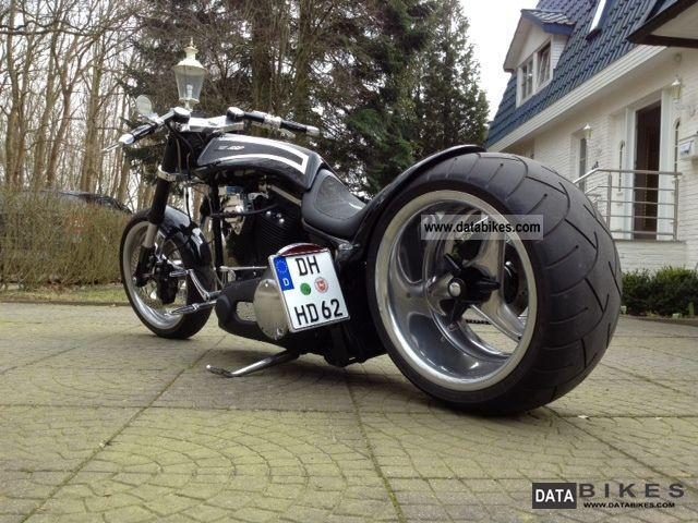 2002 Harley Davidson  WALZ HARDCORE / 300 / AIR RIDE / swingarm Motorcycle Chopper/Cruiser photo