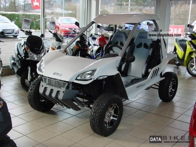 2011 Adly  Minicomputer-road - huge driving fun! Motorcycle Quad photo