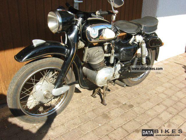 1958 NSU  Maxi 175 Motorcycle Motorcycle photo