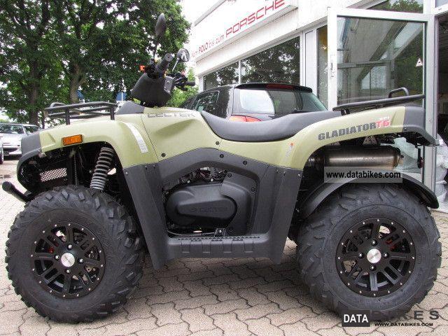 2012 Cectek  525T6 * GLADIATOR * Alloy wheels * Mod2013 new circuit Motorcycle Quad photo