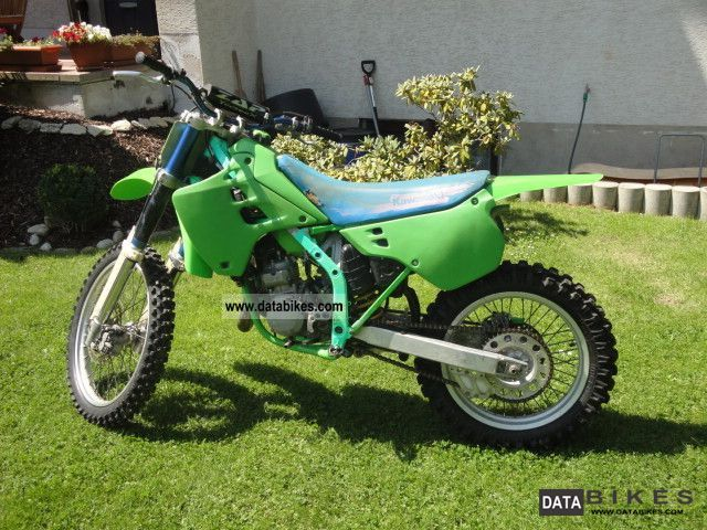 1991 Kawasaki  KX 125 Motorcycle Rally/Cross photo