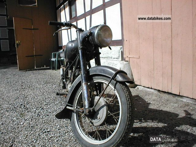 1953 BMW  R 25/3 for restoration Motorcycle Tourer photo