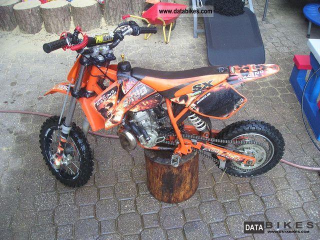 2004 KTM sx 50 per senior