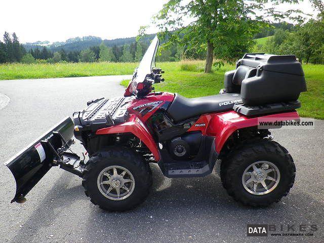 quad polaris 2008