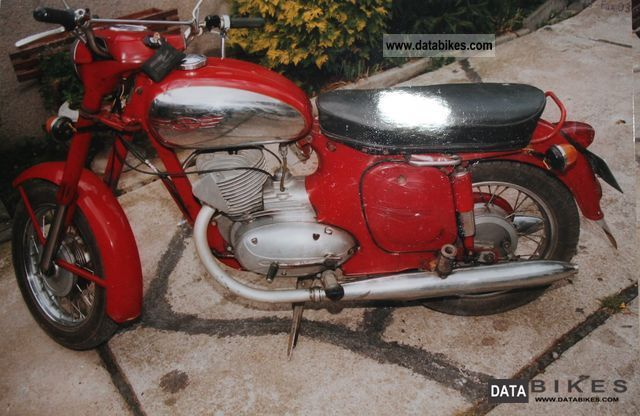 Jawa  Model 559 1964 Vintage, Classic and Old Bikes photo